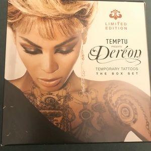 Limited Edition Beyoncé Deréon Temporary Tattoos